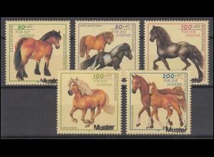 186 Freimarke Schmied 80 Pf Rand-Viererblock mit Formnummer 1 **