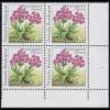 1506F Rennsteiggarten Wulfens Primel 50 Pf. OHNE Fluoreszenz, Eck-Vbl. u.r. **