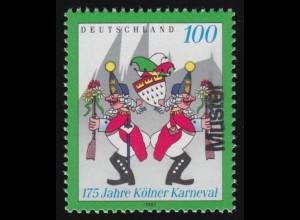 482 Jubiläum 125 Jahre Briefmarken 1965: 2 Ecken mit FN 1 und FN 2 **