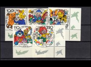 Bayern Postkarte Ziffer 5 Pf lila ohne DV: MÜNCHEN II. 21.12.85 n. Niederaudorf