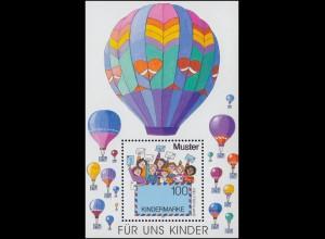 Saulgau XVI Aufdruck auf D 169 Paar mit HAN 19055.43 1, ungefaltet, ** SELTEN!