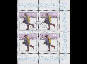 1764 Tag der Briefmarke: Rand-Vbl. rechts, zentrischer Vollstempel NETTETAL