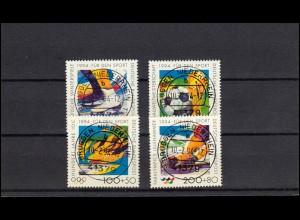 Norddeutscher Postbezirk 1x Freimarke 1/4 Groschen - dünnes Papier, gestempelt