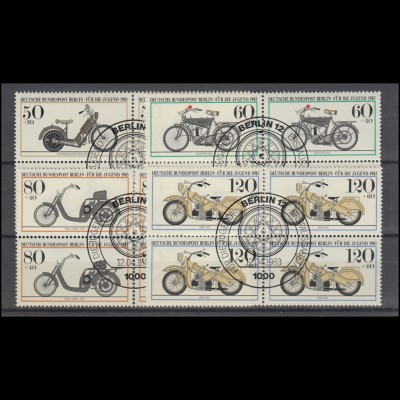 Liechtenstein 108-113 Flugpostmarken, Satz komplett, kaum sichtbar entfalzt *