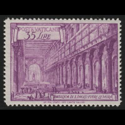156 C Basilica 35 Lire postfrisch, **