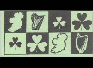Irland-Markenheftchen privat: FAI-Hauptversammlung Wunsdorf 1986 mit 6x485, **