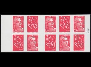 Block 32 Befreiung 1995: leichte Verzähnung, **