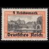 112 Bundestag 20 Pf mit PLF links oben verkürztes N in BUNDESPOST, Feld 21, **