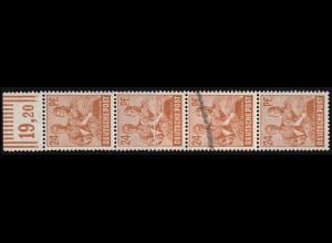 607-610 Wofa Blätter, Blüten und Früchte des Waldes, Satz mit Aufdruck MUSTER