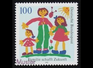 SMHD 18 Brieftaube 1985 - 1. DS: weißer Rand rechts, **