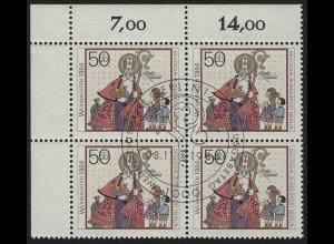 729 Weihnachten & Nikolaus 1984, ER-Vbl. oben links, ESSt Berlin