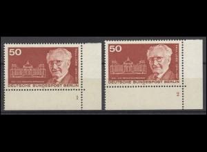 515 Reichstagspräsident Paul Löbe Berlin 1975: 2 Ecken mit FN 1 und FN 2 **