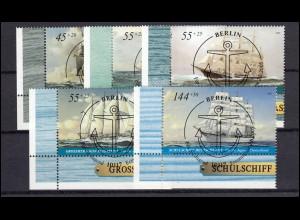 638 Heinemann 30 Pf - 3er-Streifen mit Farbteilausfall / verwischte Farbe, **