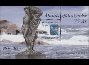 Aland Hologramm 75 Jahre Selbständigkeit 1997, **