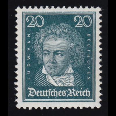 392X Beethoven - postfrisch **, rückseitg brauner Fleck höher gepr. Oechsner BPP