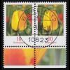 2484 Tulpe 10 Cent - waagerechtes Paar, VS-O BERLIN 4.9.08