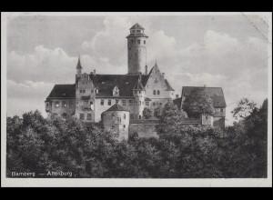 Ansichtskarte: Bamberg - Altenburg, EF Vollkornbrot / Volksgesundheit 1941