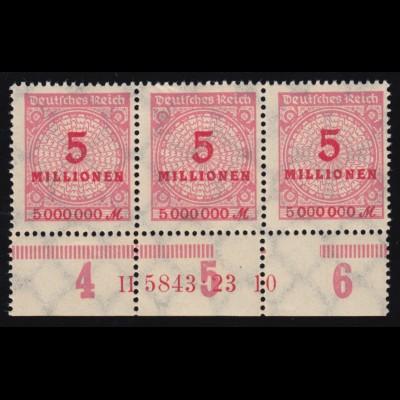 1337I Tag der Briefmarke - mit PLF I Strich auf dem Geländer, Feld 17, O