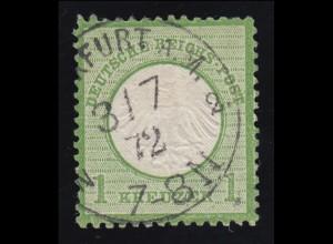 7 Brustschild, Voll-O FRANKFURT / MAIN 3.7.1872, geprüft Krug BPP