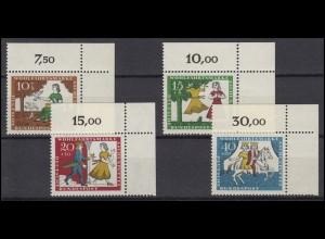 485-488 Wofa Märchen Aschenputtel 1965: Satz Ecken oben rechts **