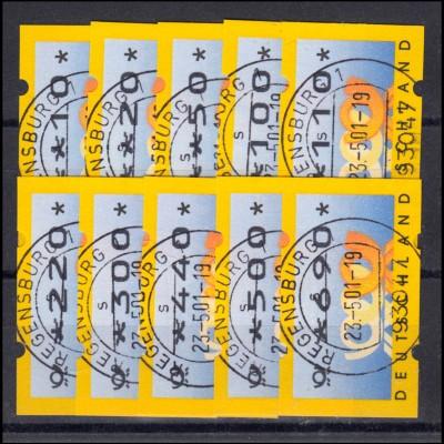 Bayern 15 Wappen 3 Kreuzer - Stempel 12a Halbkreisstempel WEILHEIM 12.5.