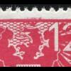 Österreich 703III Wappenadler 12 Pf mit beginnenden PLF III Krone beschädigt, **