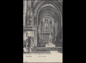 Ansichtskarte Eichstätt Dom Inneres, EICHSTÄTT 24.4.11 nach Berg/Starnberger See