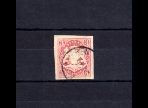 Bayern 15 Wappen 3 Kreuzer - Stempel 17 EDENKOBEN