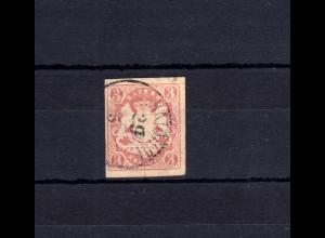 Bayern 15 Wappen 3 Kreuzer - Stempel 17 Einkreisstempel HAIDHOF 29.5.