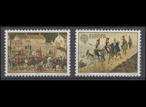 Jugoslawien: EUROPA / CEPT Folklore 1981, 2 Werte, Satz **