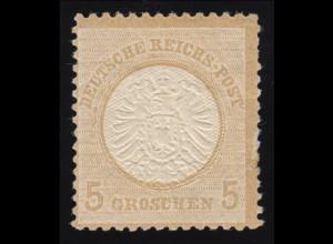 Bayern 2II4 Ziffer 3 Kreuzer mit PLF Ansatz rechts am N von BAYERN, Mühlrad 605