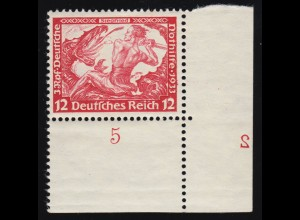 449 Wofa 20 Pf. ER-Vbl. o.l. mit Passerverschiebung der Farbe grün nach oben **