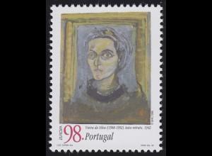 Portugal: EUROPA / CEPT Vieira da Silva 1908-1992, Marke **
