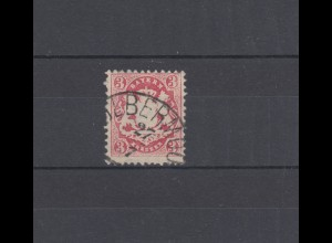 Bayern 23Y Wappen 3 Kreuzer - Stempel 12a Halbkreisstempel KOLBERMOOR 27.7.