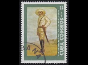 Karibik Rechtsanwalt und Freiheitskämpfer Ignacio Agramonte 1973, Marke O