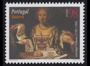 Portugal - Madeira: EUROPA / CEPT Guiomar Vilhena 1705-1789, Marke **