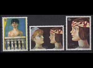 San Marino: Internationales Jahr der Frau / International Women Year, Satz **