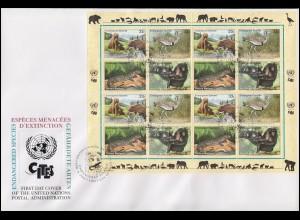 431-438 aus Block 3 Attentat 20.Juli 1944 als 8er-Block auf R-FDC mit ESSt Bonn