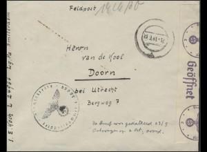 Reichsarbeitsdienst 4/542 Brief Mittendorf 15.3.1940
