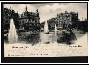 466B Schiller 20 aus Block 12 mit 491 auf Weihnachst-Postkarte SSt BERLIN 1955