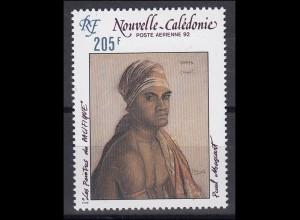 Neukaledonien: Maler des Pazifiks - Gemälde von Paul Mascart 1992, postfrisch **