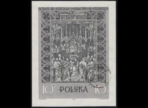 Polen: Krakauer Marienkirche & Hochaltar von Veit Stoß 1960, Block O