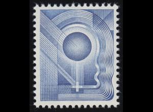Deutschland: Probedruck der Bundesdruckerei Specimen Test stamp, postfrisch **