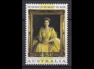 Australien: Geburtstag der Queen 1994, 1 Marke postfrisch **
