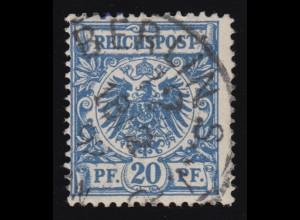 149bII Germania 80 Pf., gestempelt, geprüft INFLA