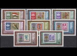 Ungarn: Weltausstellung POLEN Poznań / Posen 1973 & Marken auf Marken, Satz O