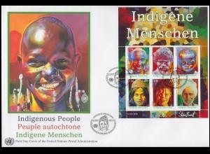 PSo 59/01-05 Jahrtausendwende: 5 Karten - alle ESSt Berlin 16.9.1999 in die USA