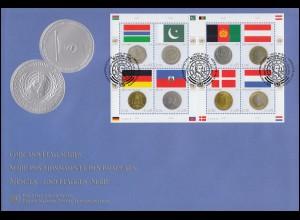 136 Posthorn 70 Pf Ecke u.l. mit Plattennummer 3, FA Schlegel BPP ** einw.frei