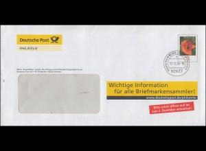 Plusbrief F 173 Klatschmohn Informationen für alle Briefmarkensammler 13.11.06