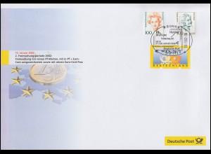 Dokumentation Euro-Einführung: Euro- & DM & Doppelnominale Bonn 10.1.2002